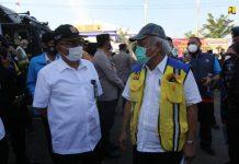 Menteri PUPR Tinjau Langsung Penyekatan Peniadaan Mudik 2021