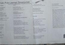Berita Sastra :  Lima Puisi Karya Penyair Pulo Lasman Simanjuntak Dimuat di Media Cakra Bangsa